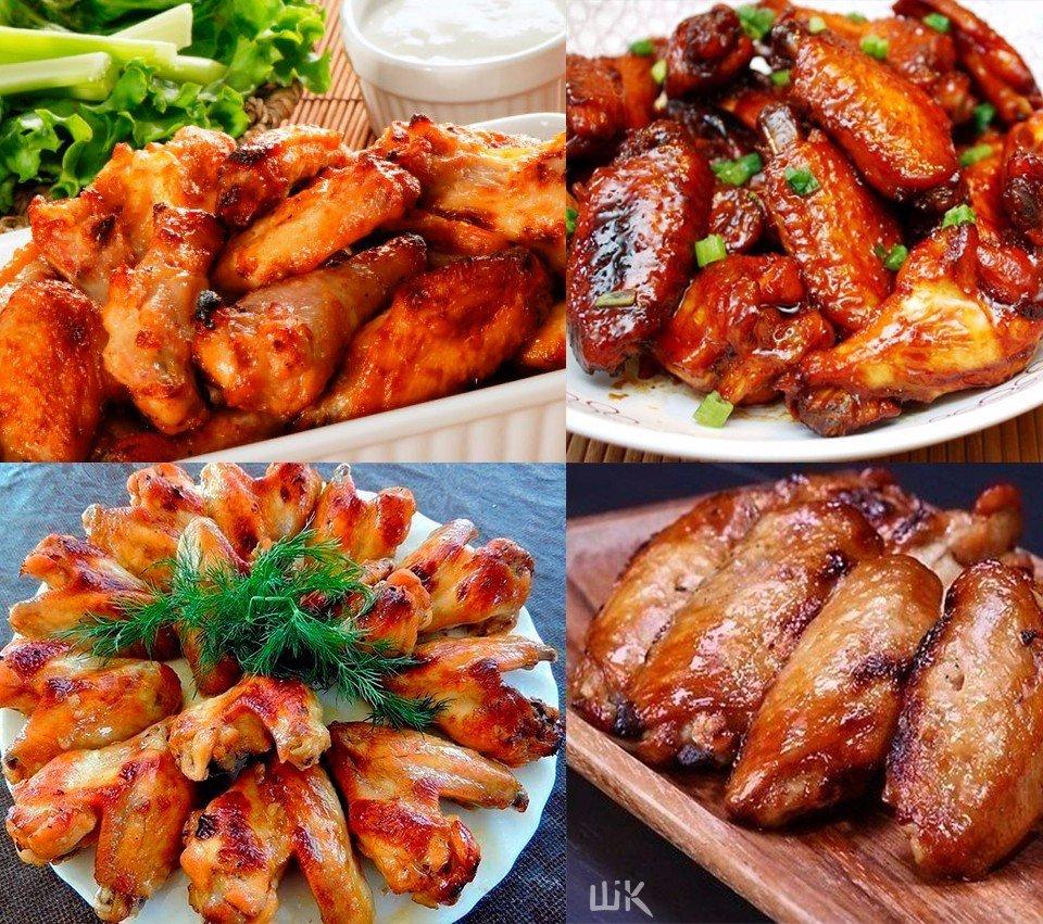 Блюда из куриных крылышек 29 рецептов с фото
